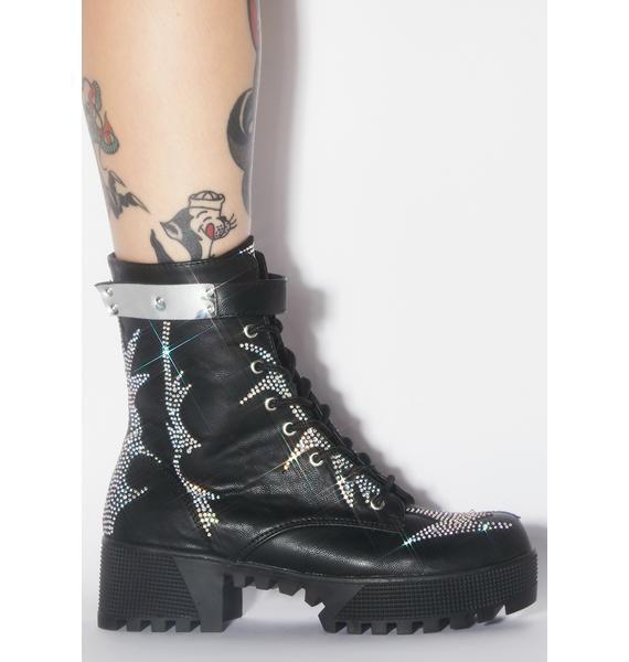 Bling Squad Rhinestone Boots