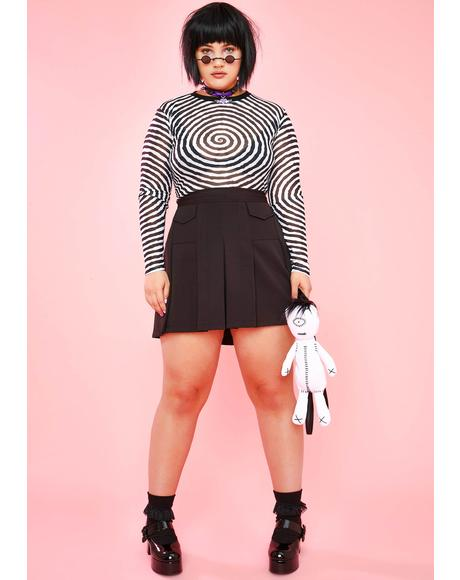 Total Candyland Nightmares Mesh Top