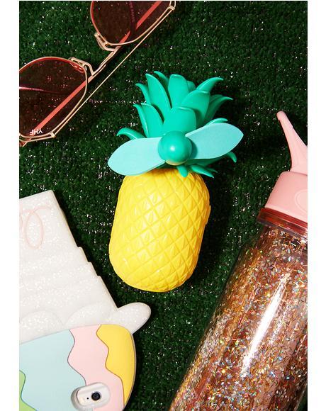 Tropical Breeze Pineapple Fan