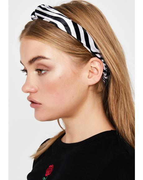 Captivating Chaos Striped Headband