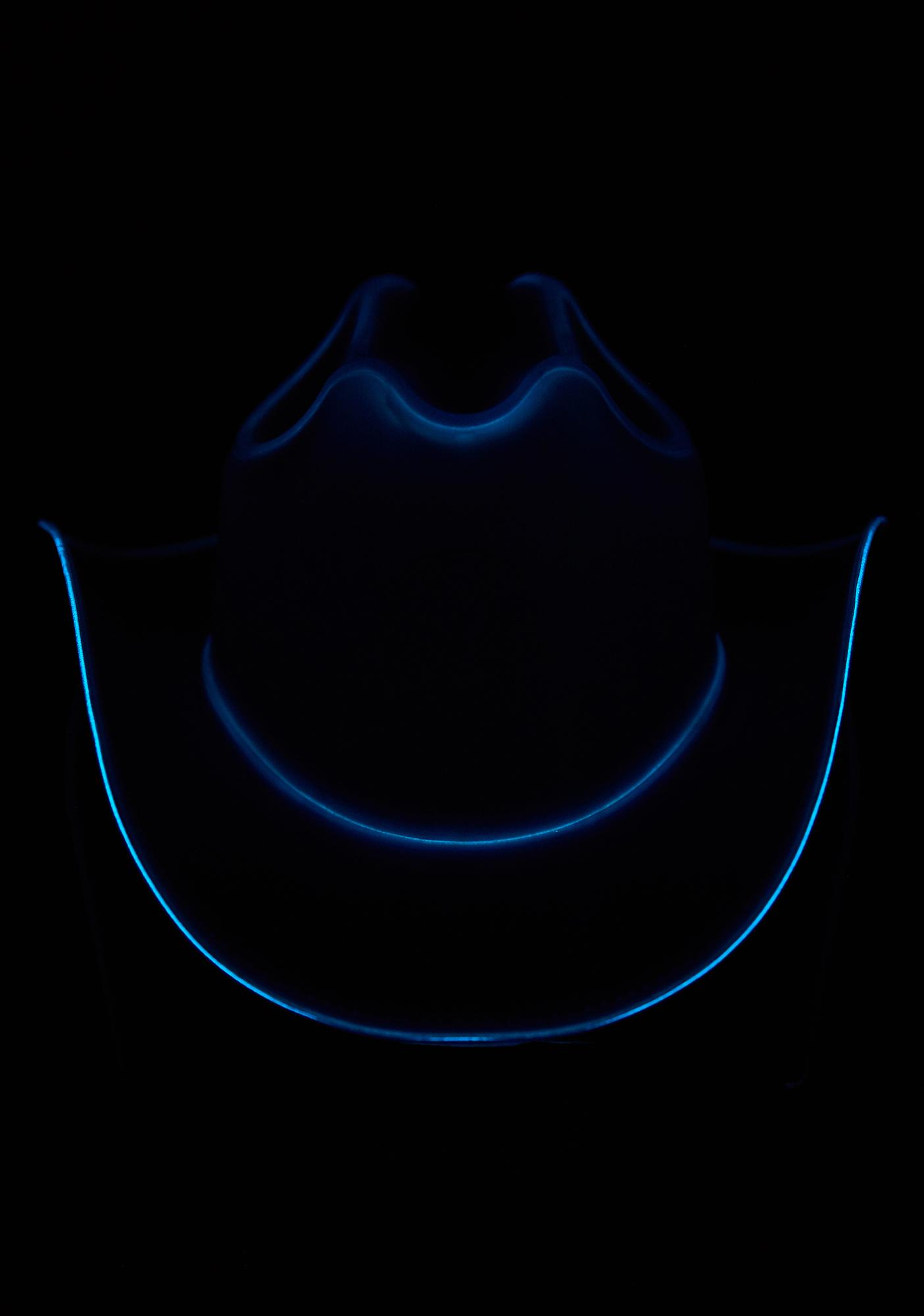 Neon Cowboys Midnight Blue Light Up Cowboy Hat