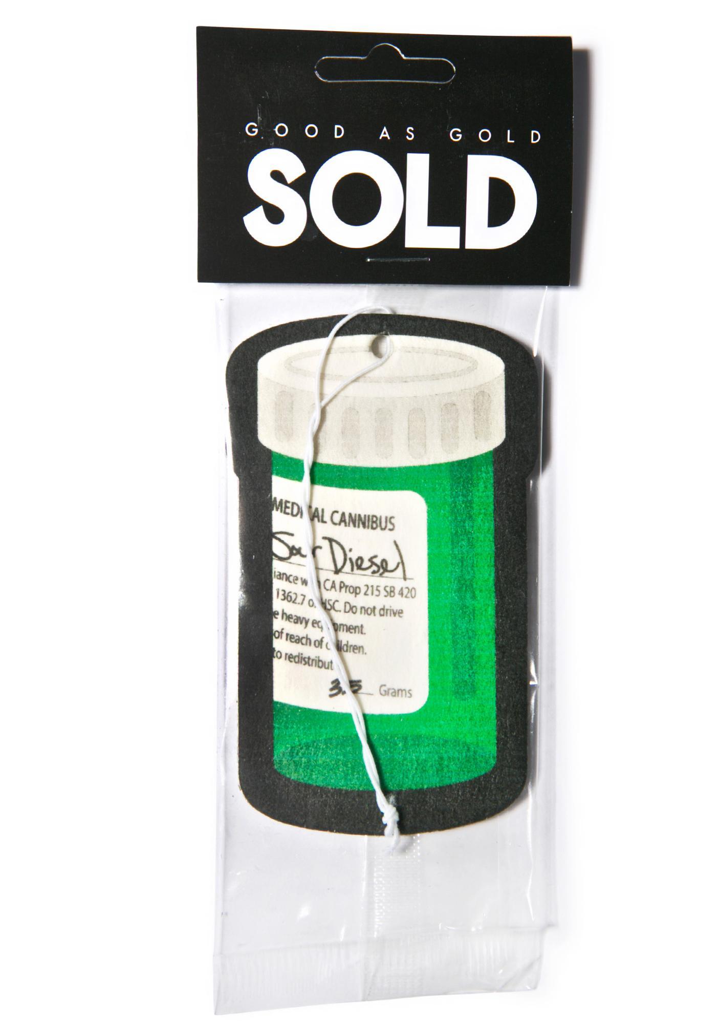 Sour Diesel Air Freshener