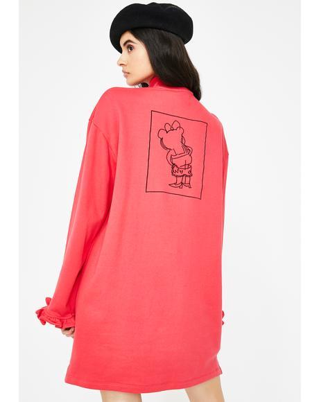 Bloomer Drop Sweater Dress