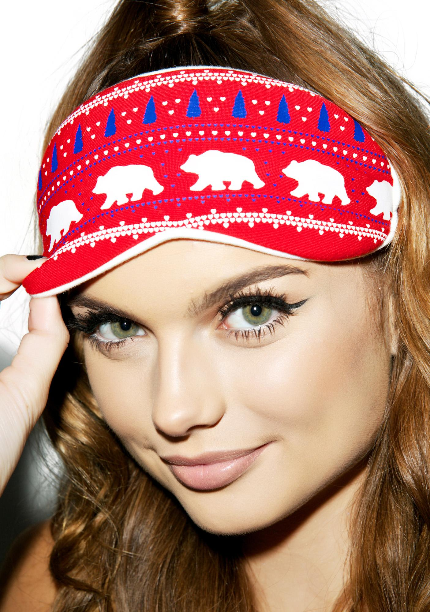 Wildfox Couture Alaska Bears Eyemask