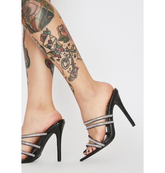 Blingin' Queen Treatment Strappy Heels