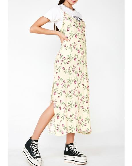 Sunny Side Up Floral Dress