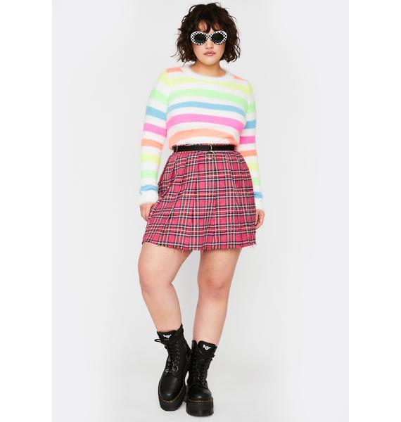 Icy Oh Hey Sweetie Fuzzy Sweater