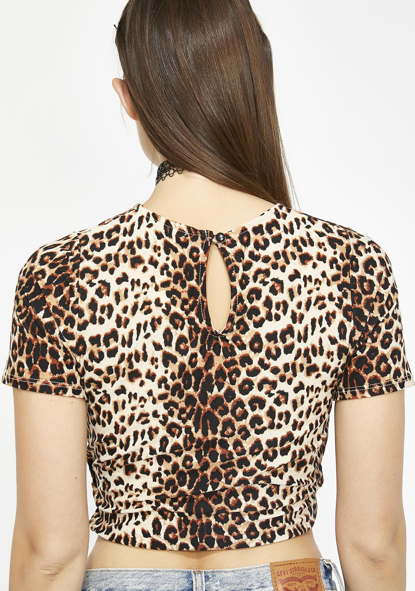The Animal Within Leopard Top