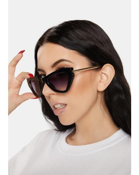 Night Vegas Baby Cat Eye Sunglasses