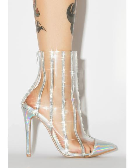 Gimme Everything Clear Heels