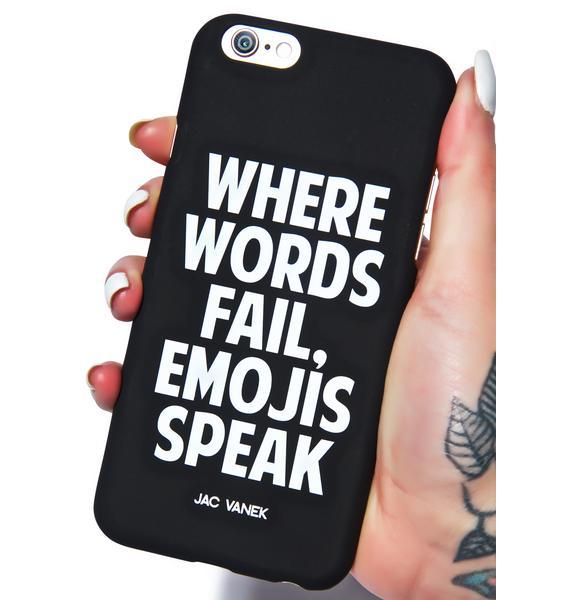 Jac Vanek Emojis Speak