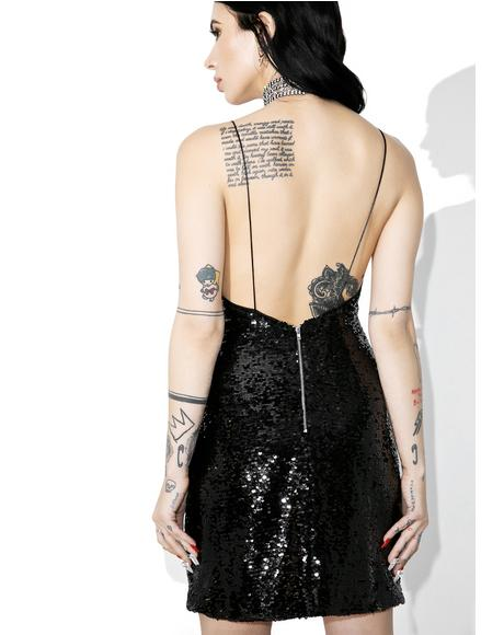 Night Owl Sequin Dress