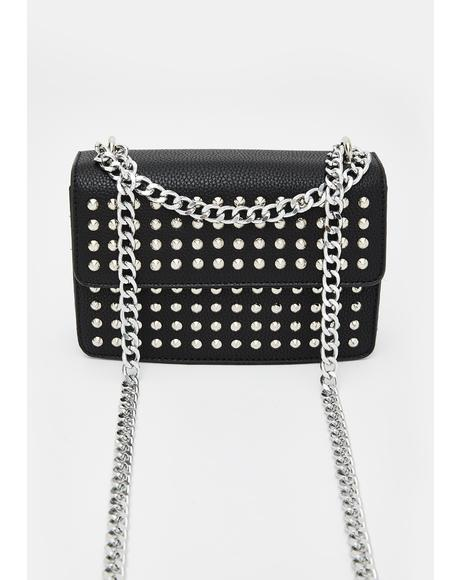 Bruised Ego Studded Crossbody
