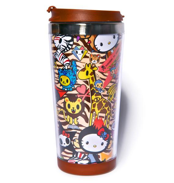 Sanrio Tokidoki X Hello Kitty Summer Safari Mug