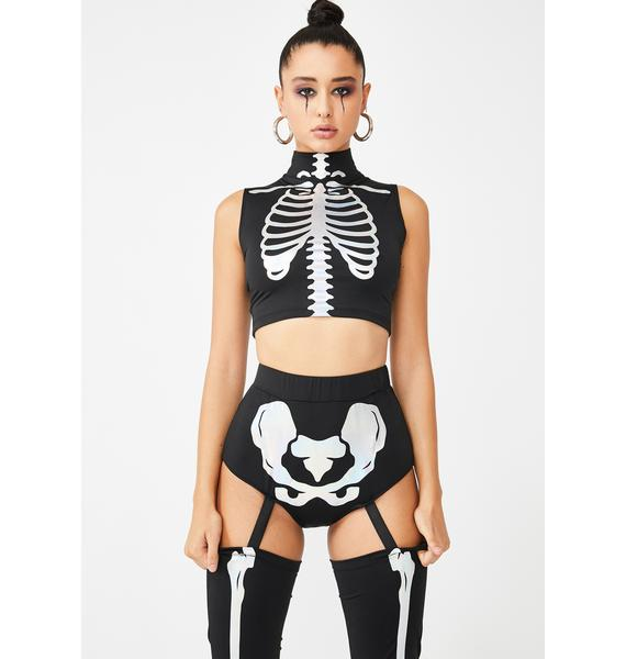 Cosmic Skeleton Costume Set