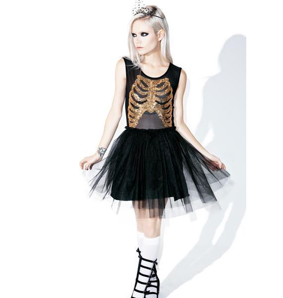 Iron Fist Wishbone Party Dress