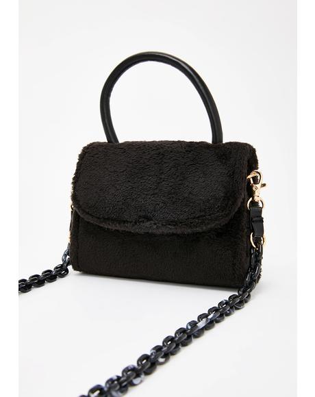 Day In The Park Fuzzy Handbag