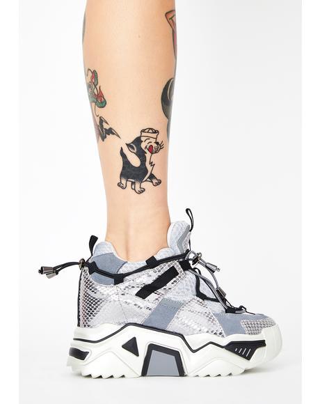 Stop Look N' Glisten Platform Sneakers