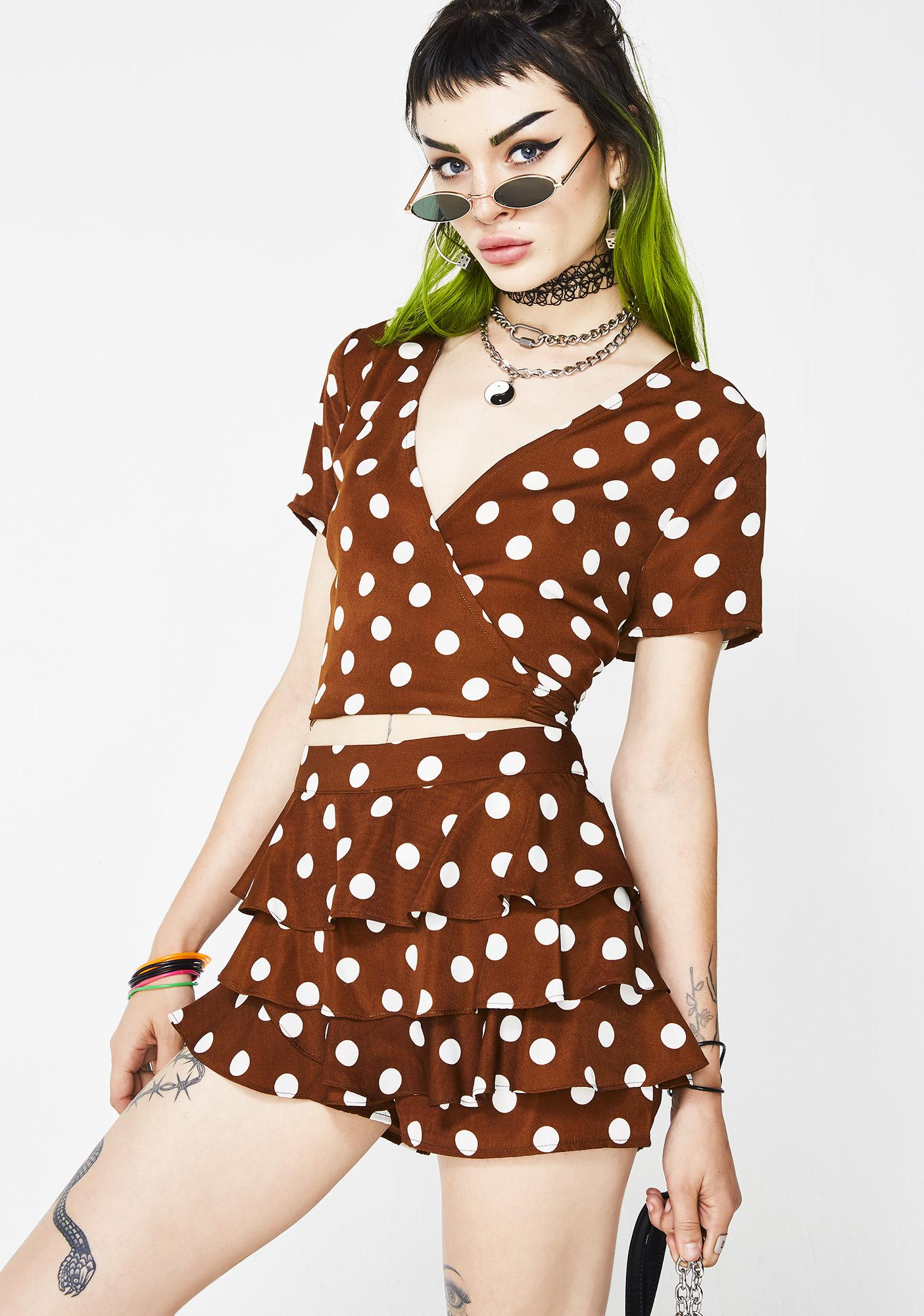Love Happy Polka Dot Set