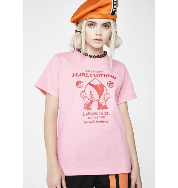 x-Girl Peach Tee