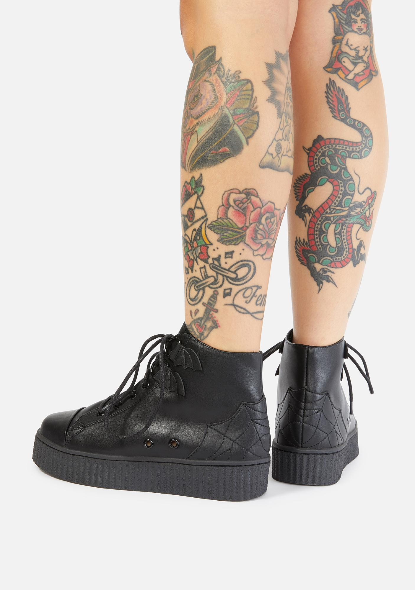 Strange Cvlt Chelsea Kreep Platform Boots