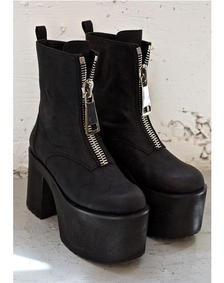 Zmax Platform Boots