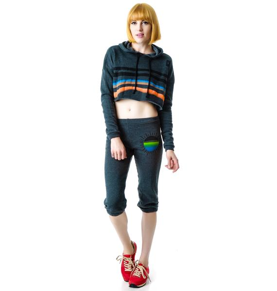 Day By Day Cropped Sweatpant Capris