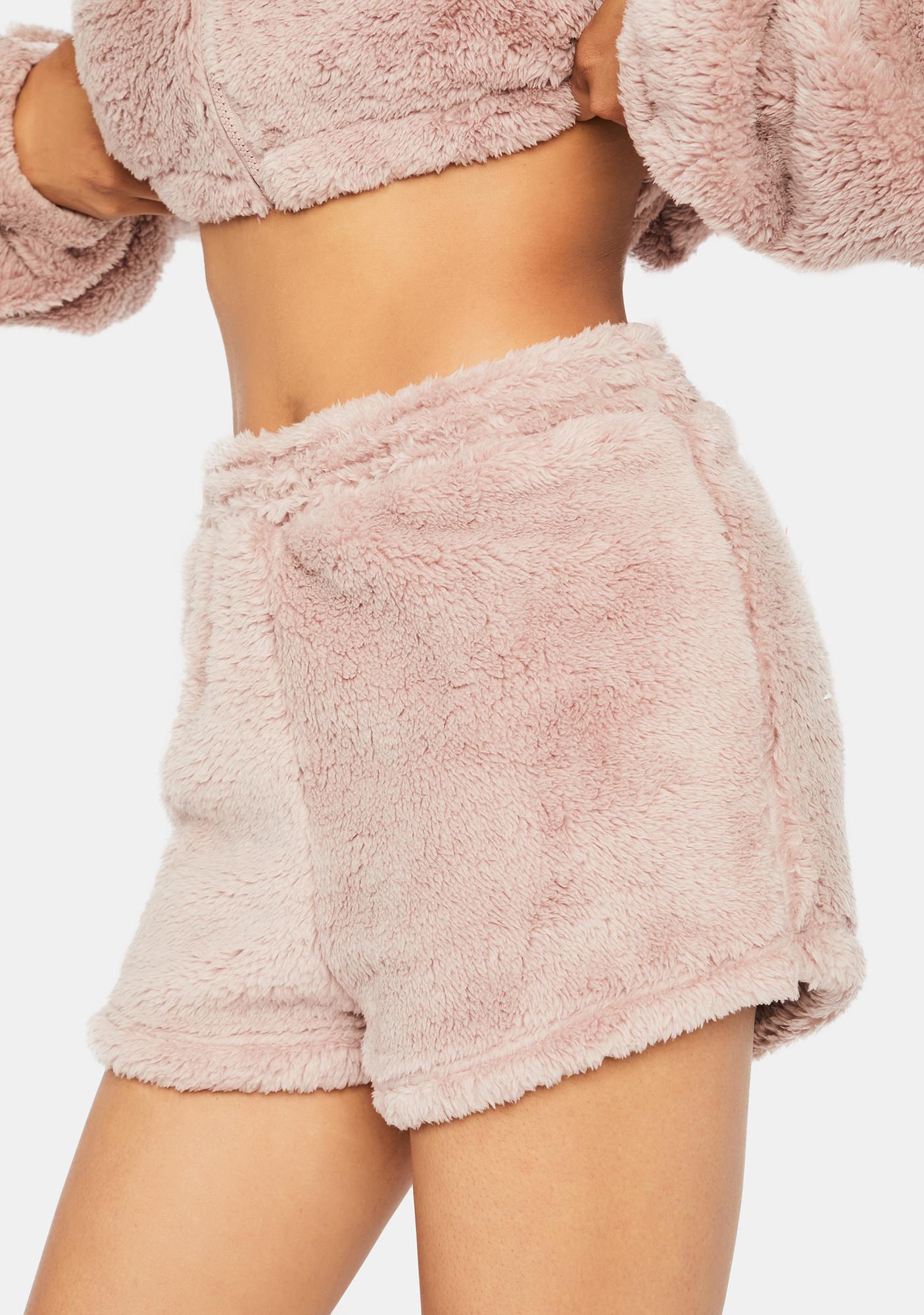 Mauve Soft Soul Lounge Shorts