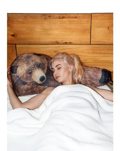 Grizzly Bear Hug Pillows