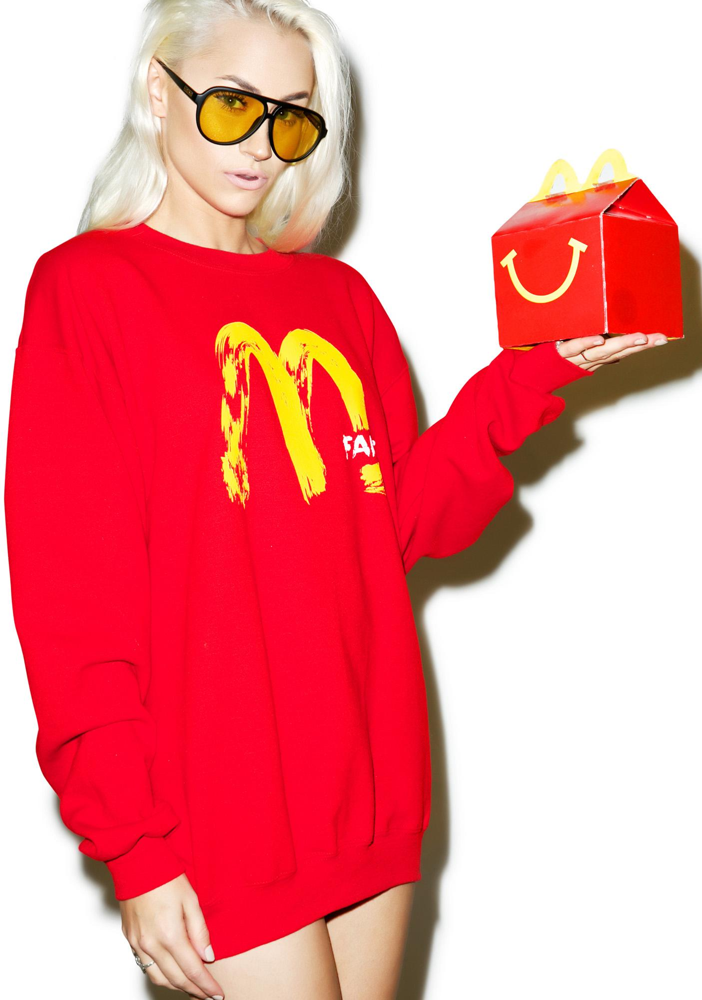 Petals and Peacocks Fake MCD Sweatshirt