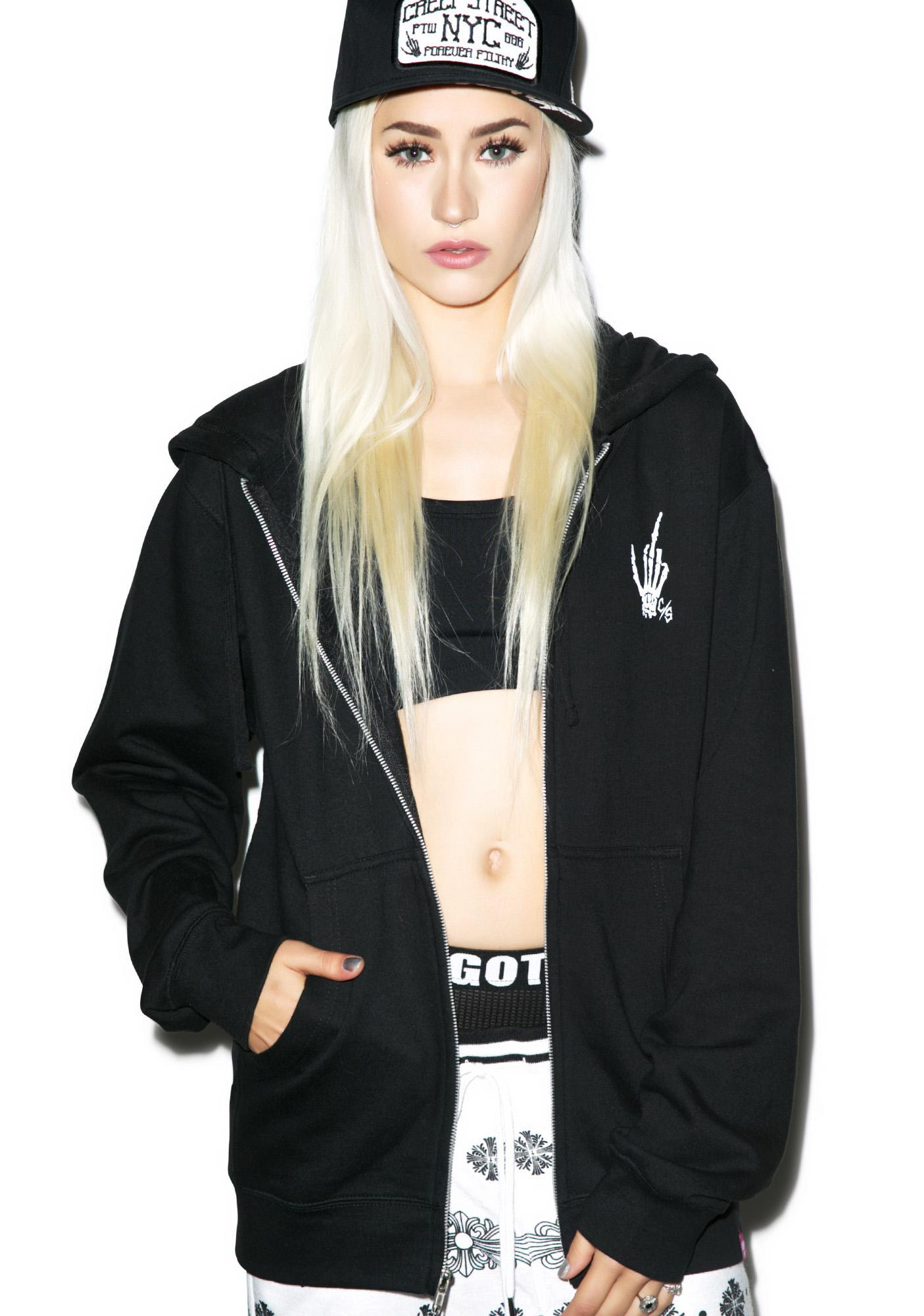 Creep Street Lip Service Hoody