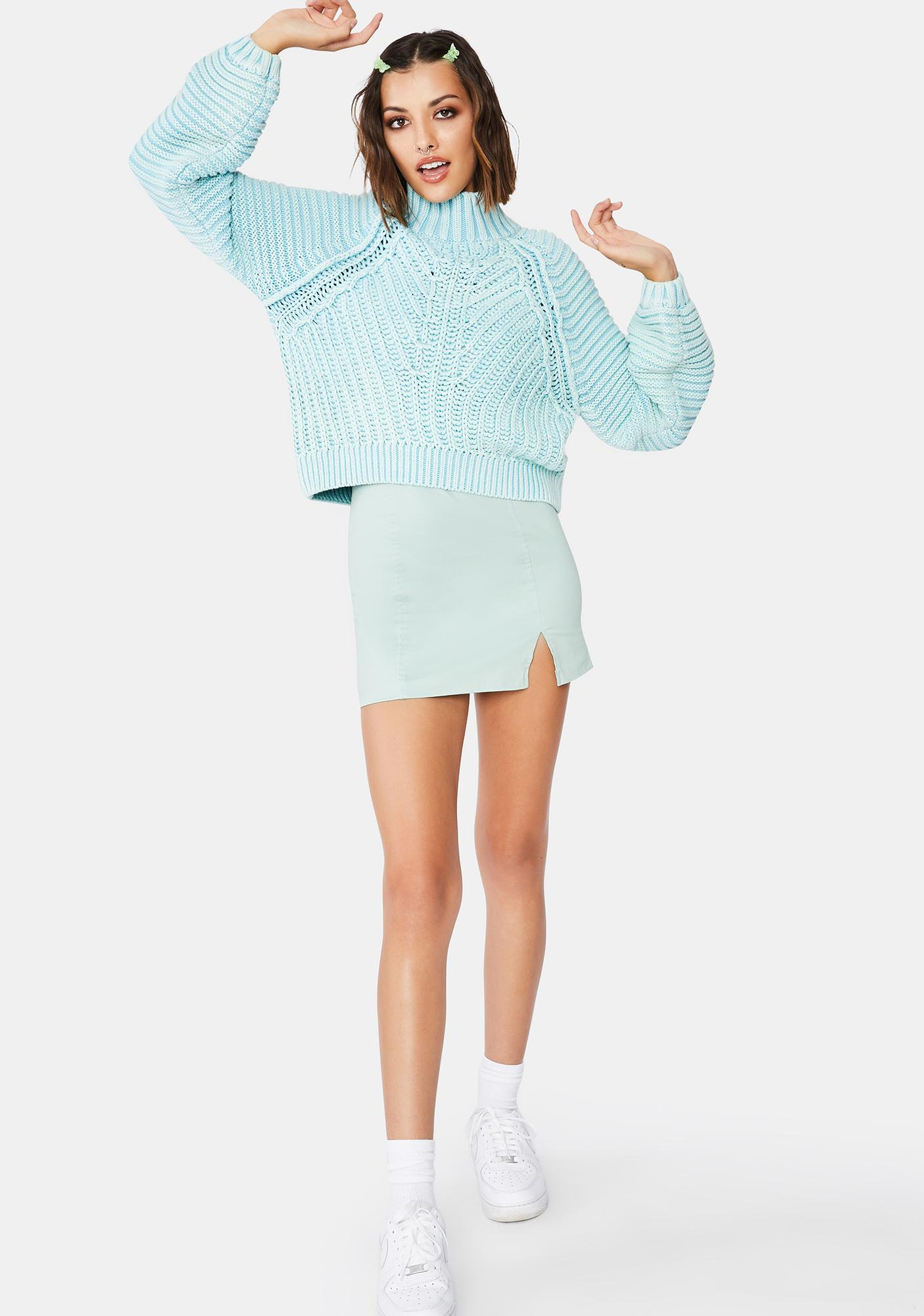 Free People Sweetheart Knit Sweater