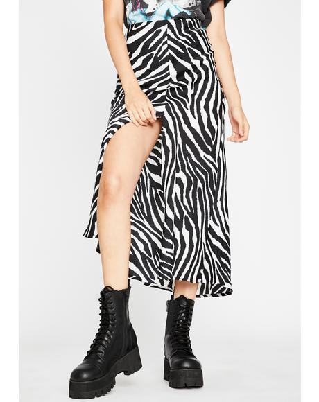 Pure Primal Calling Midi Skirt