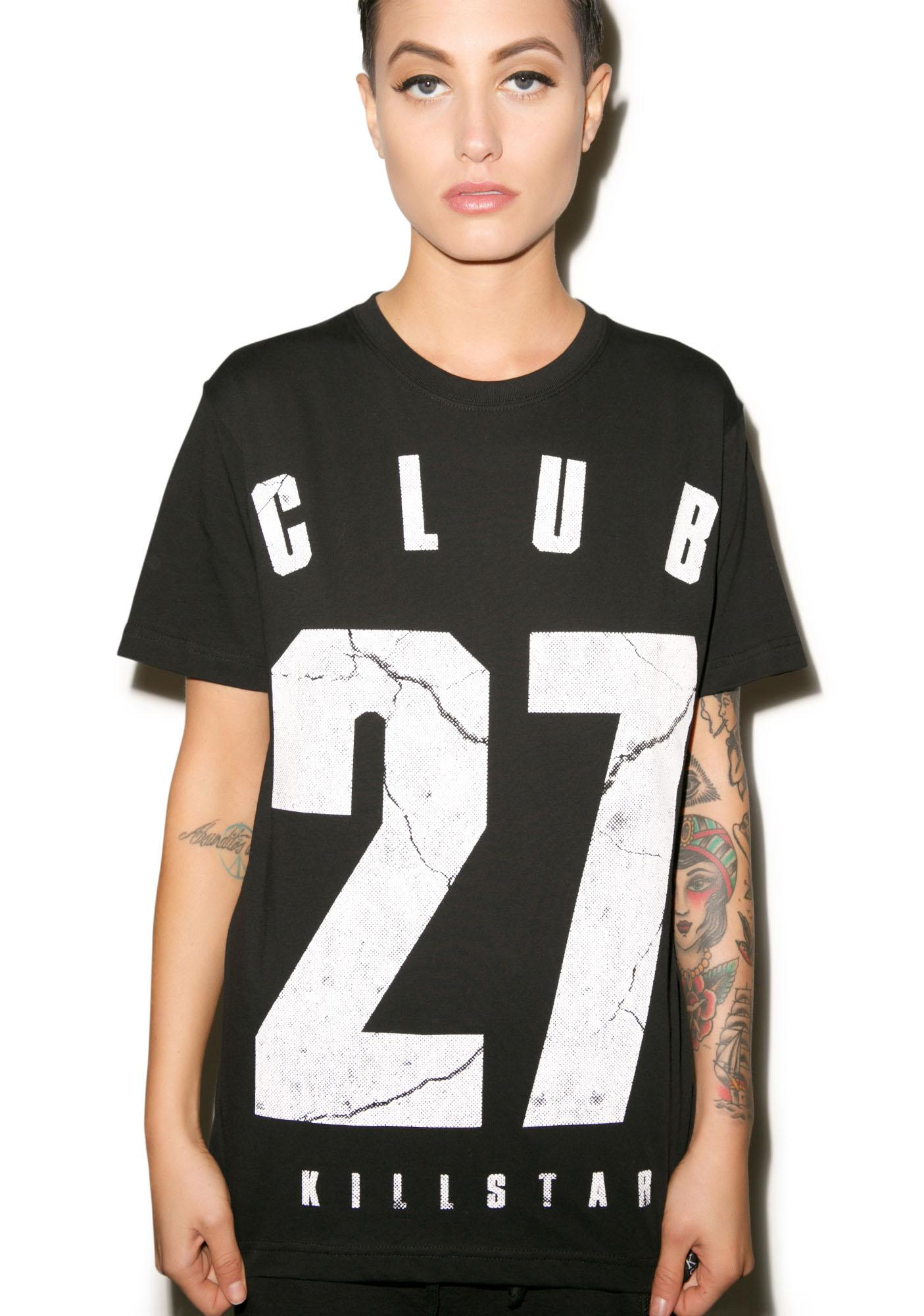 Killstar Club 27 Tee