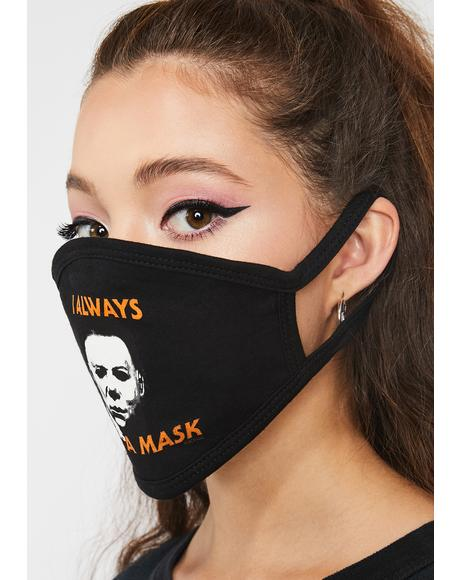Michael Myers Face Mask