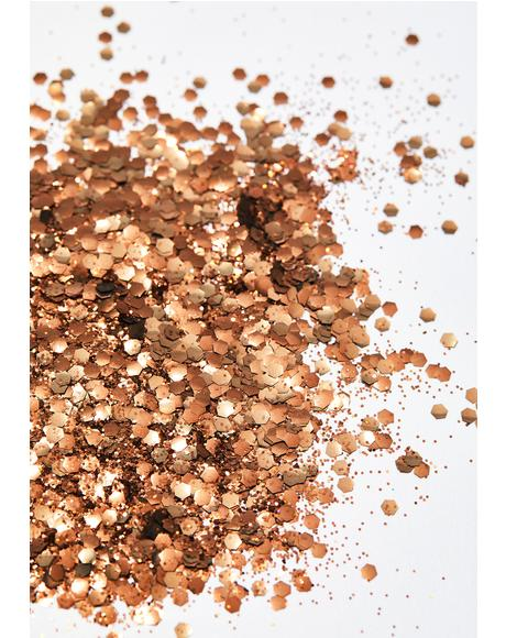 Coppertone Biodegradable Glitter Tube
