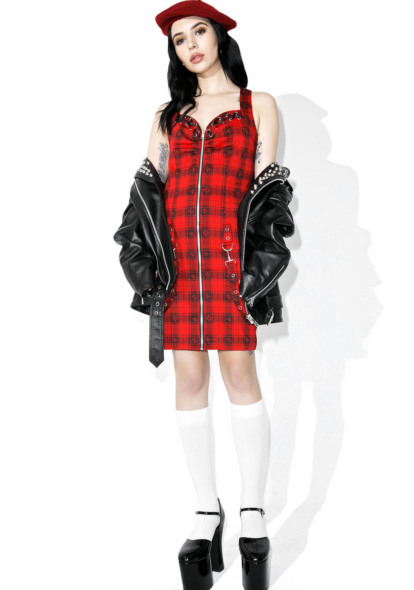 Sweet 'N Sour Plaid Dress
