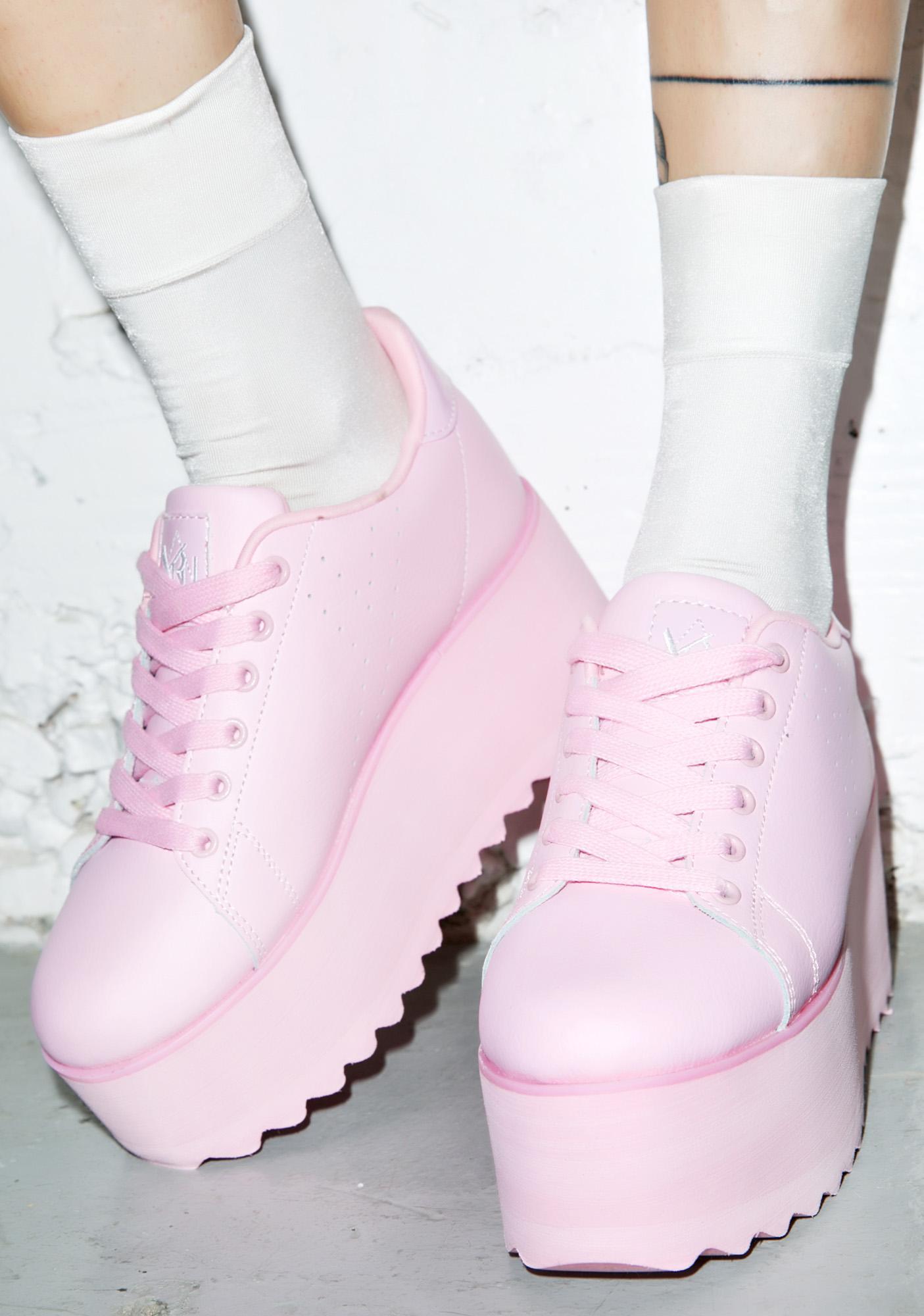de061bc6f52 Y.R.U. Lala Platform Sneakers
