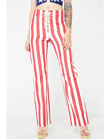 The Thelma Striped Pants