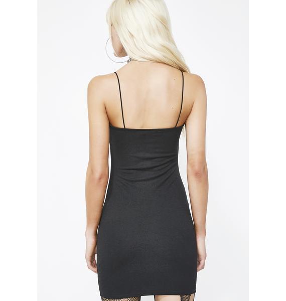 Zip It Bish Mini Dress