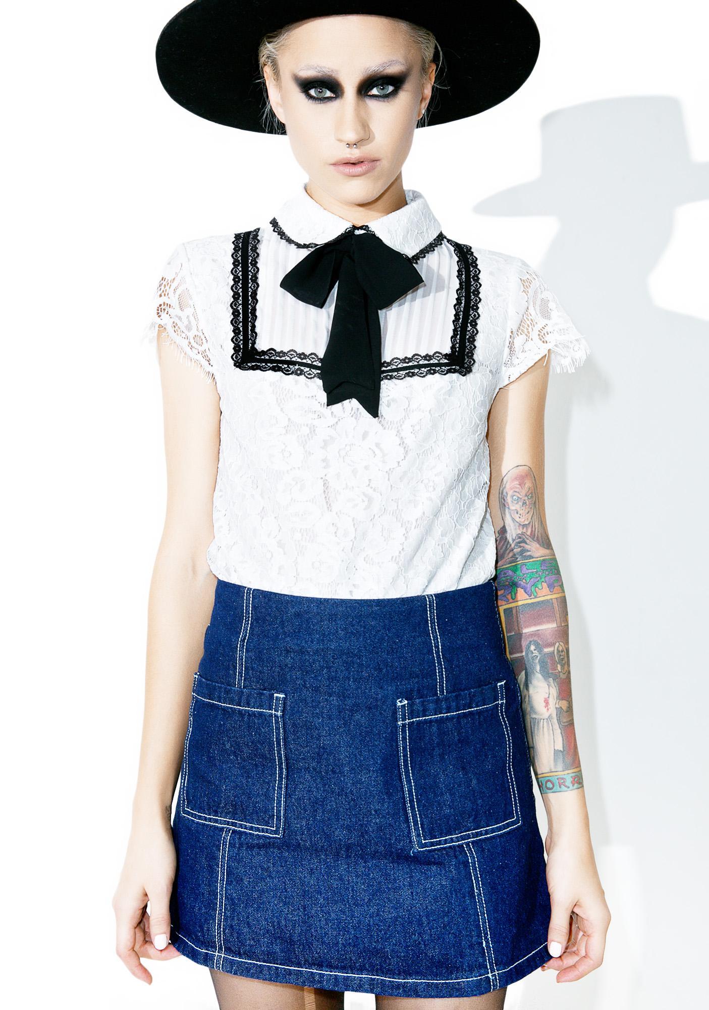 Are You Mine Mini Skirt