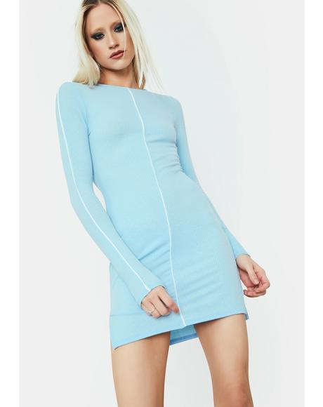 Lust For Life Long Sleeve Mini Dress