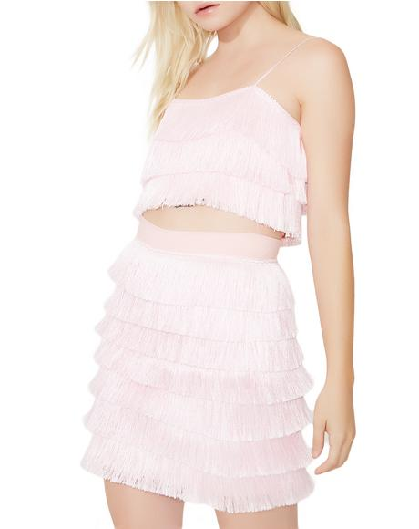 Barbie Fringe Skirt