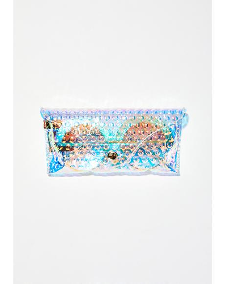 Holo Bubbles Sunglasses Pouch