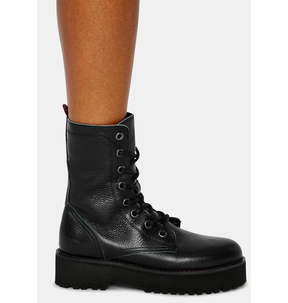 Buffalo Mac Genuine Leather Boots