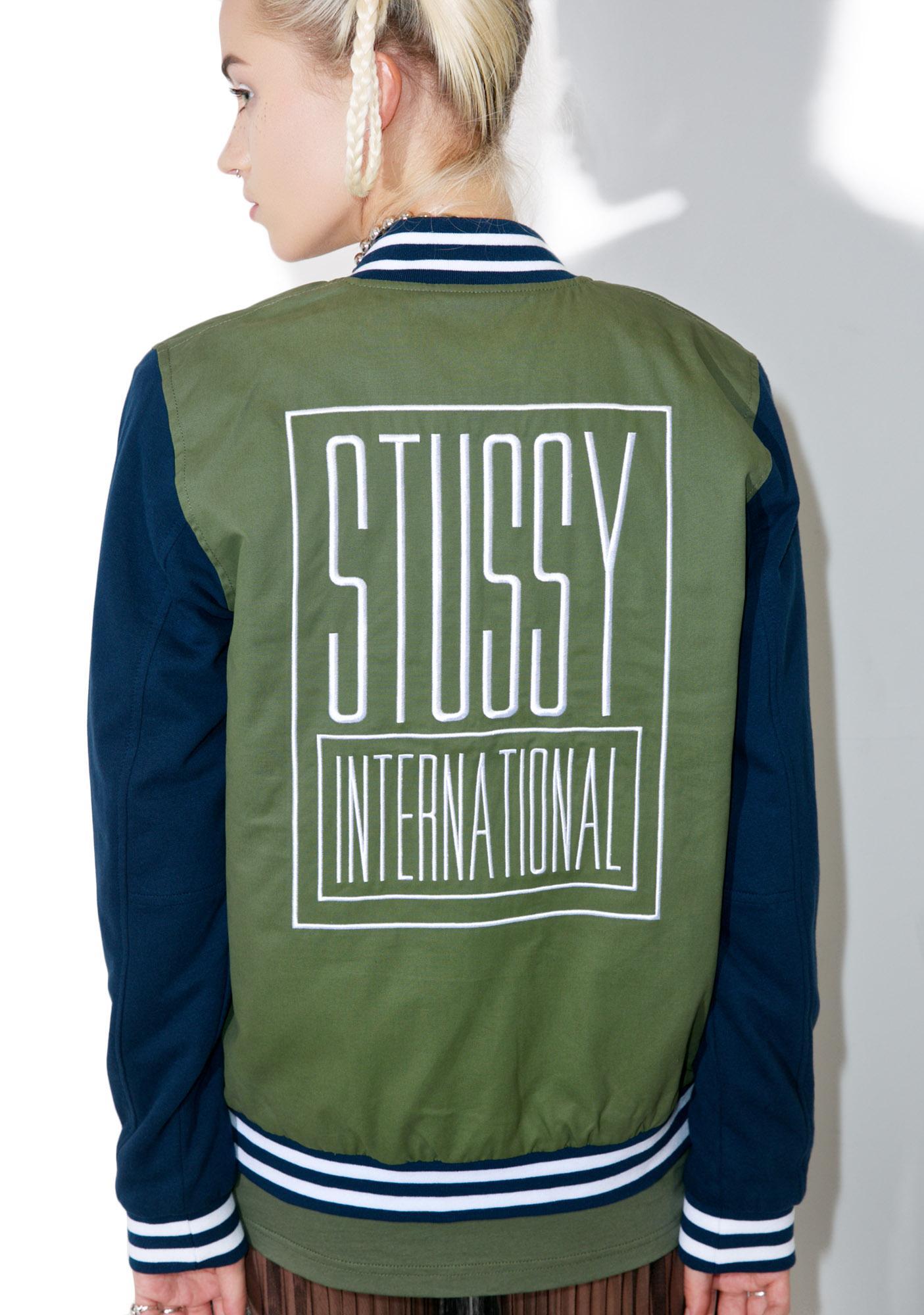 Stussy Uni Varsity Jacket
