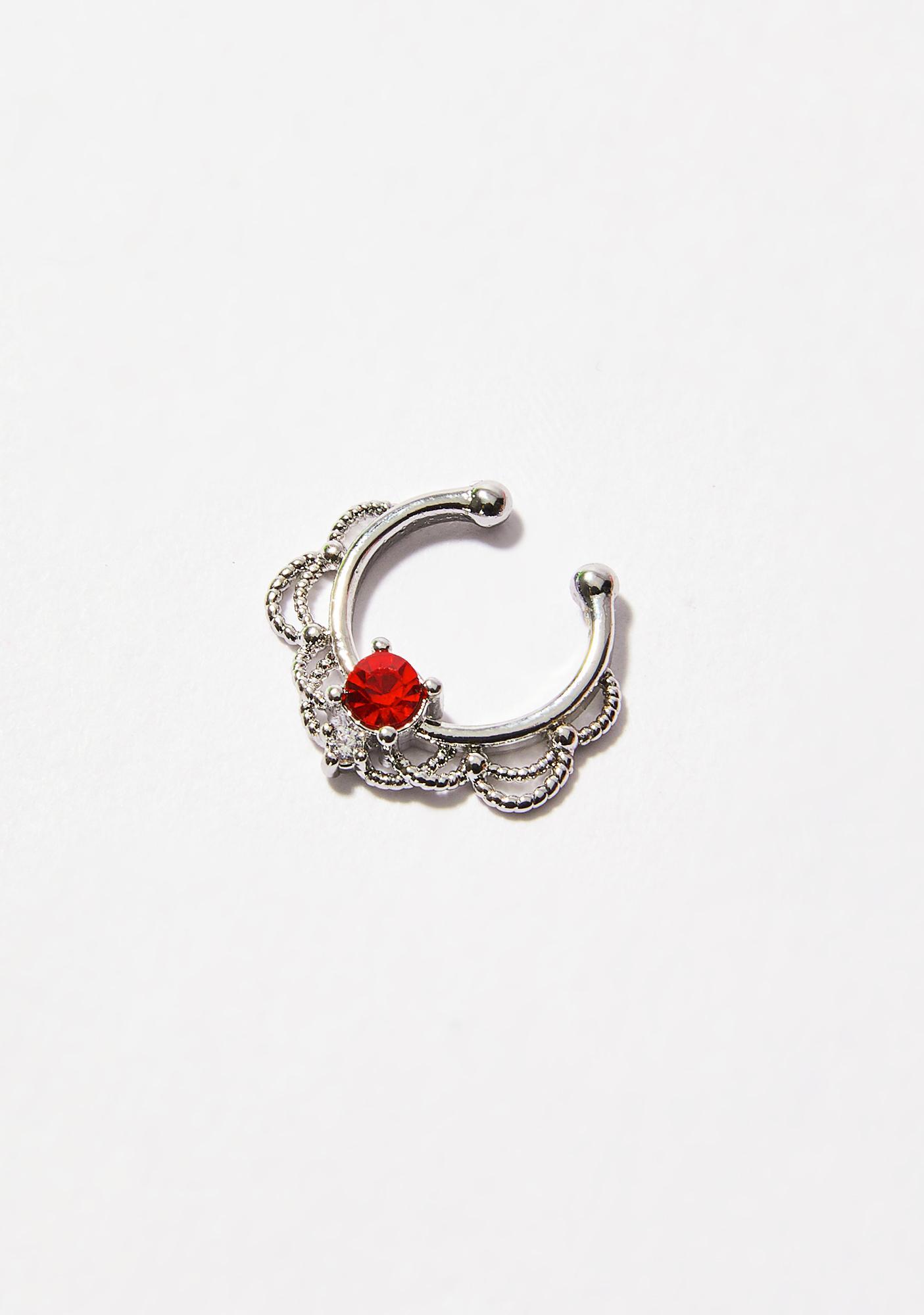 Hidden Spark Septum Ring