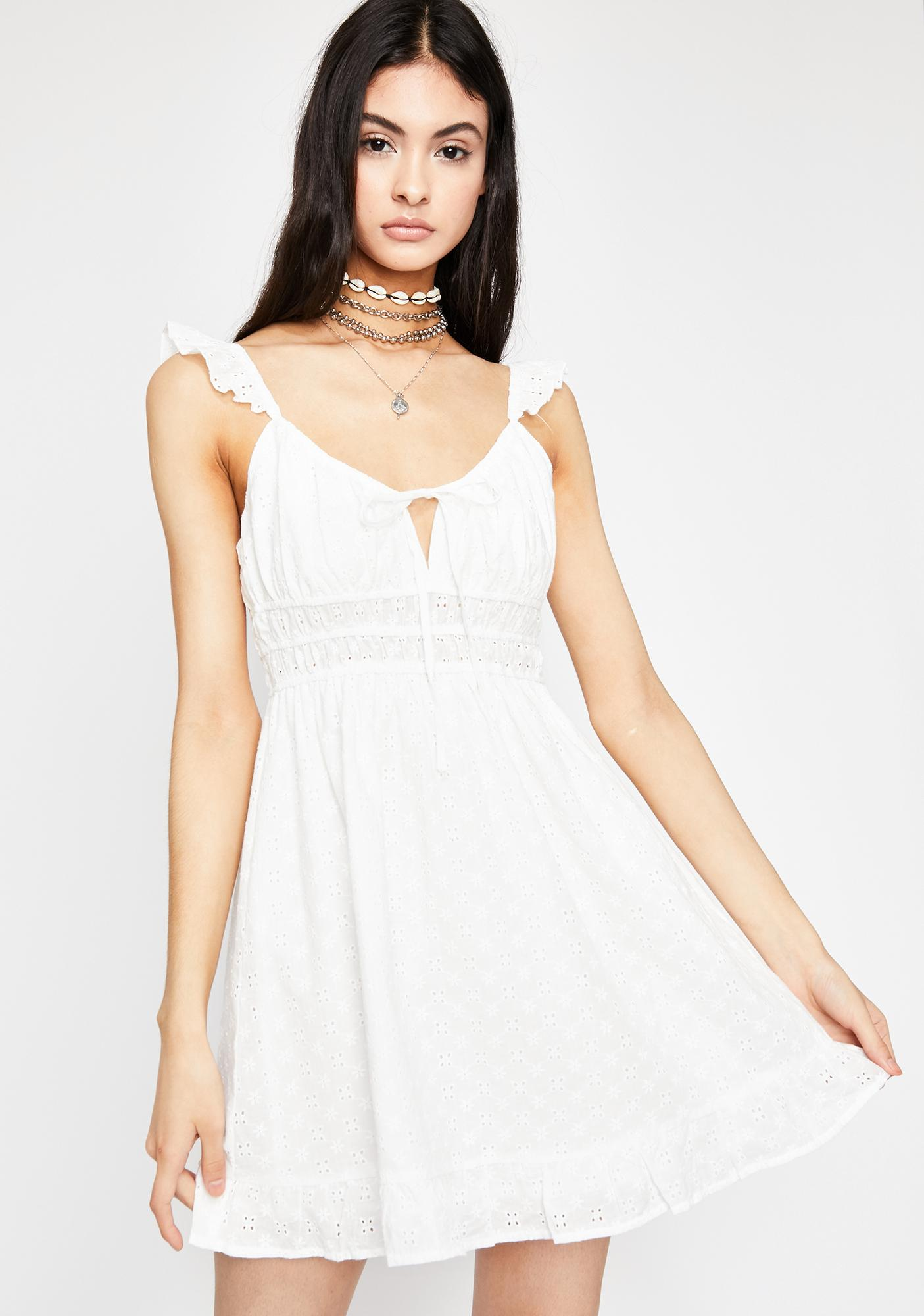 Morning Hymn Eyelet Dress