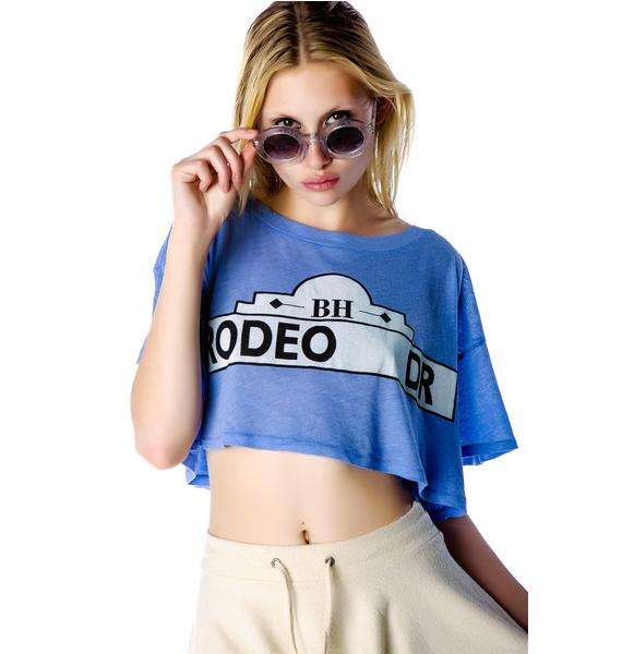 Wildfox Couture Rodeo Drive Cropped T