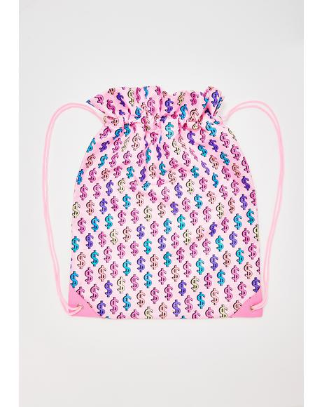Made Of Money Drawstring Bag